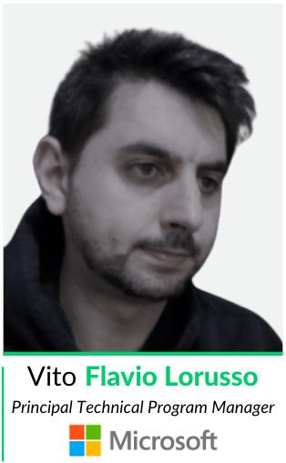 vito flavio lorusso principal technical program manager microsoft relatore ecommerceweek